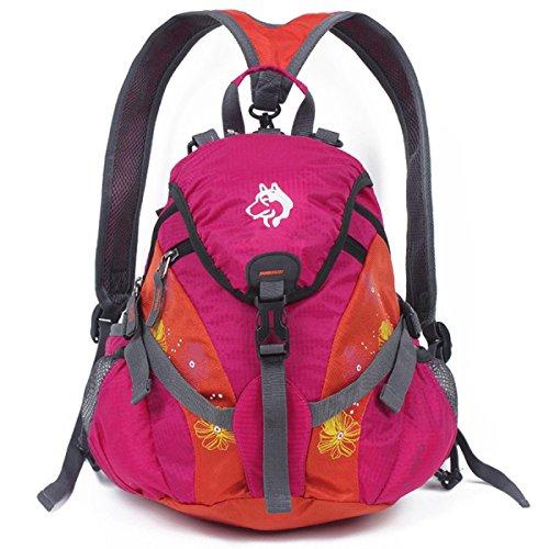 Leichte Bergsteigen Beutel Diagonal Schulter Tasche 15L Red