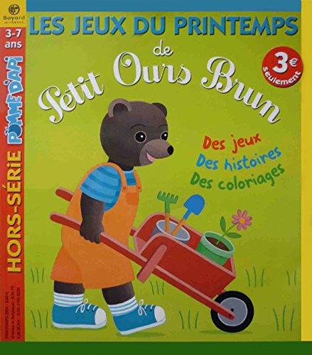 Les carnets de jeux de Petit ours brun à la campagne