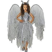 Disfraz Hada Maléfica niña infantil para Halloween (7-9 años)