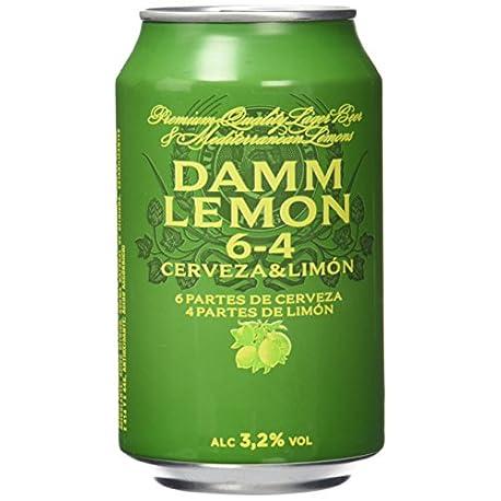 Damm Lemon Cerveza Paquete de 24 x 330 ml Total 7920 ml