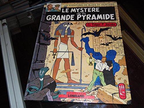 Le mystère de la grande pyramide tome 1 Blake et Mortimer 1972