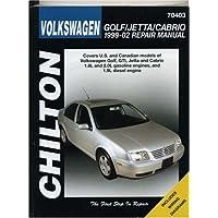 Chilton's Volkswagen Golf & Jetta, 1999-02