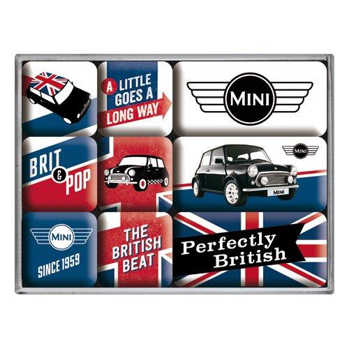 Nostalgic-Art 83079 Mini - Union Jack, Magnet-Set (9teilig)