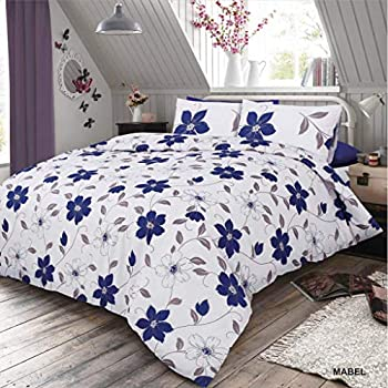 Asda Home Cotton Rich Duvet Cover Bed Sets Paisley