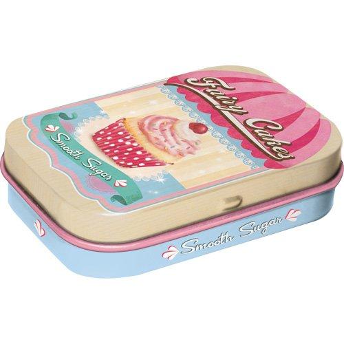 Preisvergleich Produktbild Nostalgic-Art 81264 Home & Country - Fairy Cakes Smooth Sugar,  Pillendose