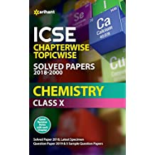 ICSE Chapterwise Solved Papers Chemistry Class 10th