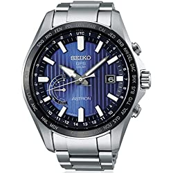 Montre Seiko Astron Solar World SSE159J1 Hommes Bleu