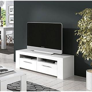 Ansel - AMBIT TV Unit - 006621BO - SHINY WHITE - (130x54x8.5)