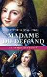 Lettres - (1742-1780)