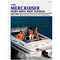 Clymer Mercruiser: Stern Drive Shop Manual : 1995-1997 Alpha One, Bravo One, Bravo Two & Bravo Three 1st (first) Edition by Clymer Publications published by Primedia