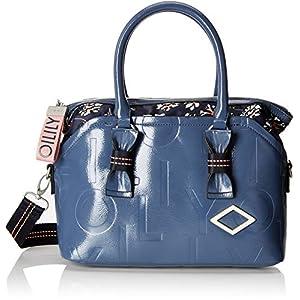 Oilily Damen Brightly Handbag Mhz Henkeltasche, 14x24x34 cm