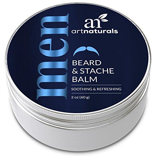 Art Naturals Bart Baume et moustache Baume pommade (2 oz/60 g) - congé en conditionneur & cire de Bart