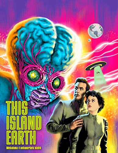 Metaluna 4 antwortet nicht (This Island Earth) - 3-Disc Mediabook - Limitierte Auflage  (+ DVD) (+ CD-Soundtrack) [Blu-ray]