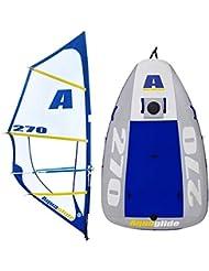 Aquaglide - Multisport 270 Gonflable -  Bateau à voile, Planche à voile, Kayak et bouée tractée, tout en 1