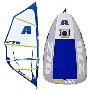 aquaglide multisport 270 gonflable bateau voile. Black Bedroom Furniture Sets. Home Design Ideas