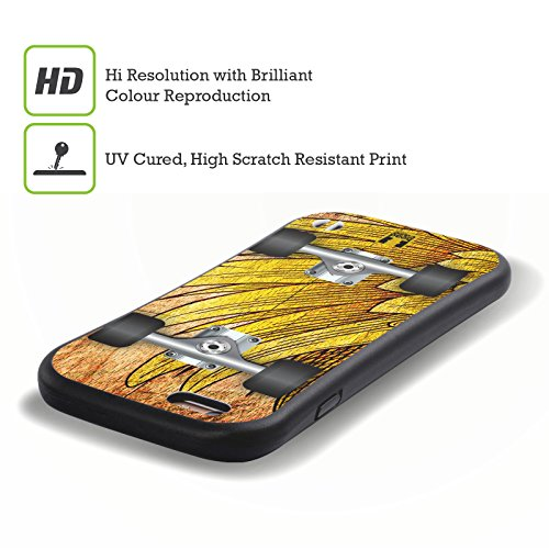 Head Case Designs Raggae Skateboards Hybrid Hülle für Apple iPhone 6 / 6s Flug
