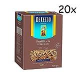 20x Pasta De Cecco Fusilli integrali n. 34 Vollkorn italienisch Nudeln 500 g