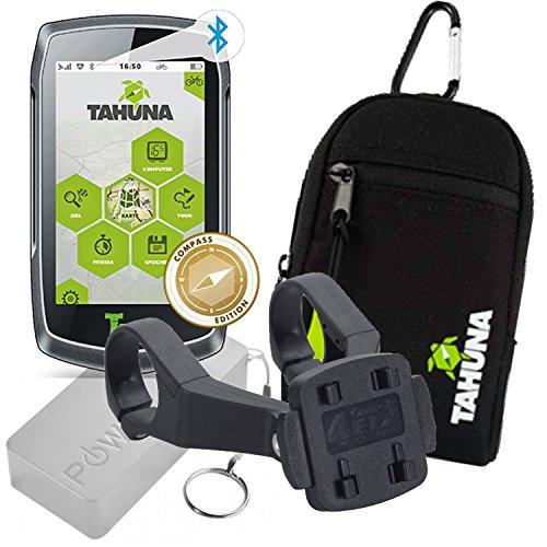 TEASI One 3 Extend + Dual-Fahrradhalter Lenkermontage + USB Netzteil + Tasche + Powerbank 5600mAh