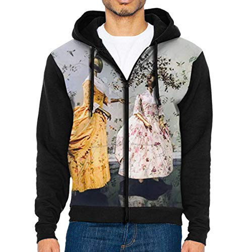 94918172806e China Through The Looking Glass 3 Men s Full-Zip Hoodie Jacket Sweatshirt XL