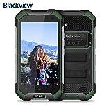 Blackview BV9000 Pro Outdoor Smartphone Dual Sim 4G da 128GB, Batteria 4180mAh, Doppia Fotocamera 13 e 8MP, 5.7' FHD+ Cellulari Offerte, GPS/Bussola/NFC/Hotspot/Face ID/WIFI-Oro [Italia]