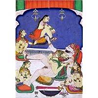 Poster 90 x 130 cm: 'Bull among