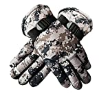 #9: Kabello Winter Gloves For Men Bike Riding - Hand Gloves For Men
