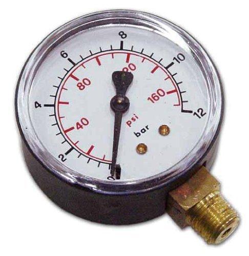 Aria Compressa - Manometro Attacco radiale per compressori Walmec Art.61300 1/4