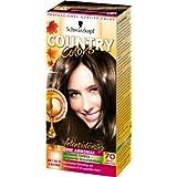 Country Colors Intensivtönung, 70 Brazil Dunkelbraun, 3er Pack (3 x 1 Stück)