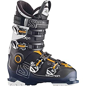 SALOMON Herren Ski-Stiefel X Pro X90 CS Skistiefel, Schwarz/Blau/Weiss, 26.5