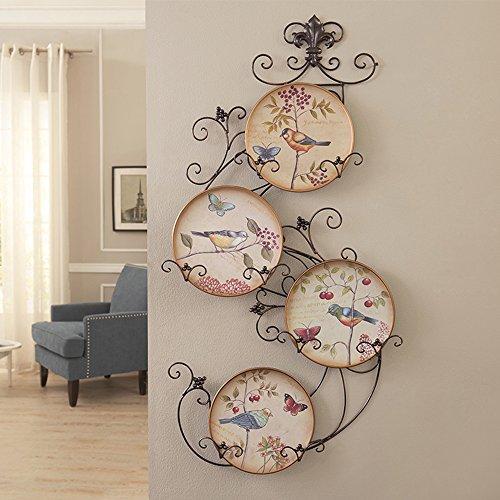 Europea - Stile del suolo Wall Hanging Ornamenti le pareti del salone sono decorate con pareti dipinte in ceramica a parete