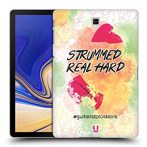 Head Case Designs Plektrum Probleme Mit Der Gitarre Ruckseite Hülle für Samsung Galaxy Tab S4 10.5 (2018)