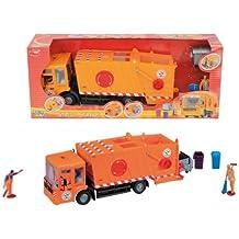 Dickie - Vehículo de limpieza, color naranja ( 3414498)