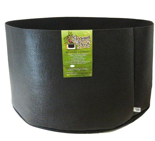 Smart Pots 100-Gallon Smart Pot Soft-Sided Container, Black