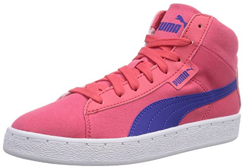 Puma 48 Mid Canvas Jr, Baskets hautes mixte enfant