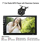 kkmoon 17,8 cm Universal 2 DIN HD Bluetooth Kfz Stereo FM Radio MP5 Player Touchscreen USB/TF AUX-Eingang Mit HD Kamera