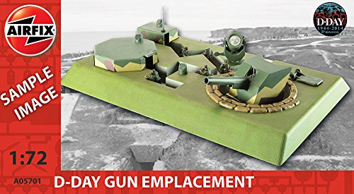 Airfix Kit Diorama Buildings D-Day Gun Emplacement A05701