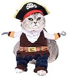Legendog Hunde Kostüm, Weihnachten Haustier Kostüme Bekleidung Cute Cosplay Hund Katze Verkleiden Kleid Hundekleidung Verkleiden Partei Dressing bis Kleidung Karibische Pirat