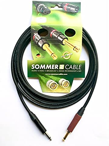 Sommer Cable Instrumentenkabel SC-Spirit Klinke NP2X-BAG / Klinke NP2X-AU-SILENT (6m)