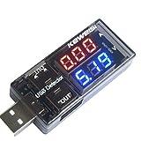 Laqiya USB Charger Doctor Current Voltage Charging Detector Battery Voltmeter Ammeter Multimeter USB