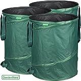 Gardenmate® - 3x jardín bolsa de 160l emergente - incluso la colocación de una robusta poliéster oxford 600d tela