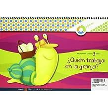 A tu medida Infantil 3 años cuaderno ¿Quien Trabaja en la granja? (Escalera de Caracol)