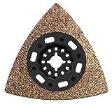 Bosch 2608662906 Carbit-Riff Schleifplatte AVZ 90 RT4, 1 W, 1 V