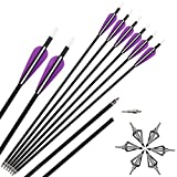 Huntingdoor 6Pcs Archery 32Inch Hunting Carbon Arrows - Best Reviews Guide