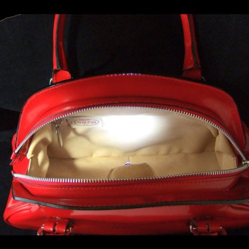 Pratesi Giotto borsa da donna - R321 Radica (Nero) Viola