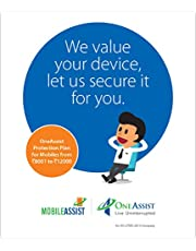OneAssist Accidental and Liquid Damage Protection Plan for Mobile and Tablets from Rs 8001 to Rs 12000 Range,Only Devices