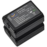 2x NP-FW50 Battery for Sony NPFW50 α Alpha a3000 a5000 for sale  Delivered anywhere in Ireland