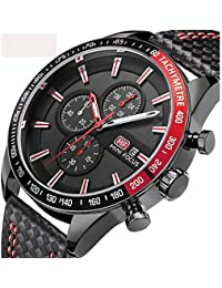 Relojes de Hombre Hombre Niños Reloj de Pulsera Reloj Militar Reloj Deportivo Japonés Cuarzo Calendario Cronógrafo