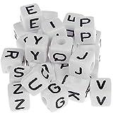 580 Kunststoff Buchstabenwürfel gemischt 10mm x 10mm