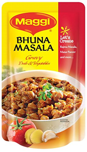 MAGGI Bhuna Masala Gravy, 65g each (Pack of 3)  available at amazon for Rs.72