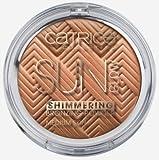 Catrice Cosmetics Sun Glow Shimmering Bronzing Powder for Darker Skin Nr. 020 Shimmering Hazel Inhalt: 9g Samtig zarter Bronzing Puder mit feinem Schimmer.